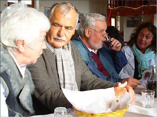 Besucher von der Evangelischen Kirche auf Kreta